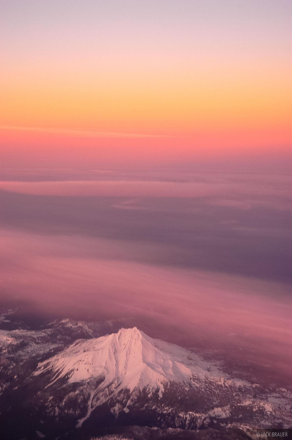 aerial, Mount Jefferson, Oregon, photo
