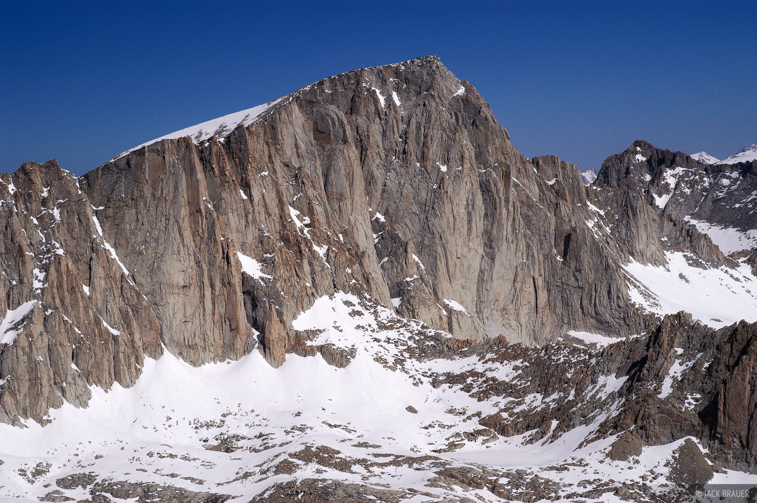 Mt. Whitney, Mt. Irvine, Sierra Nevada, California, photo