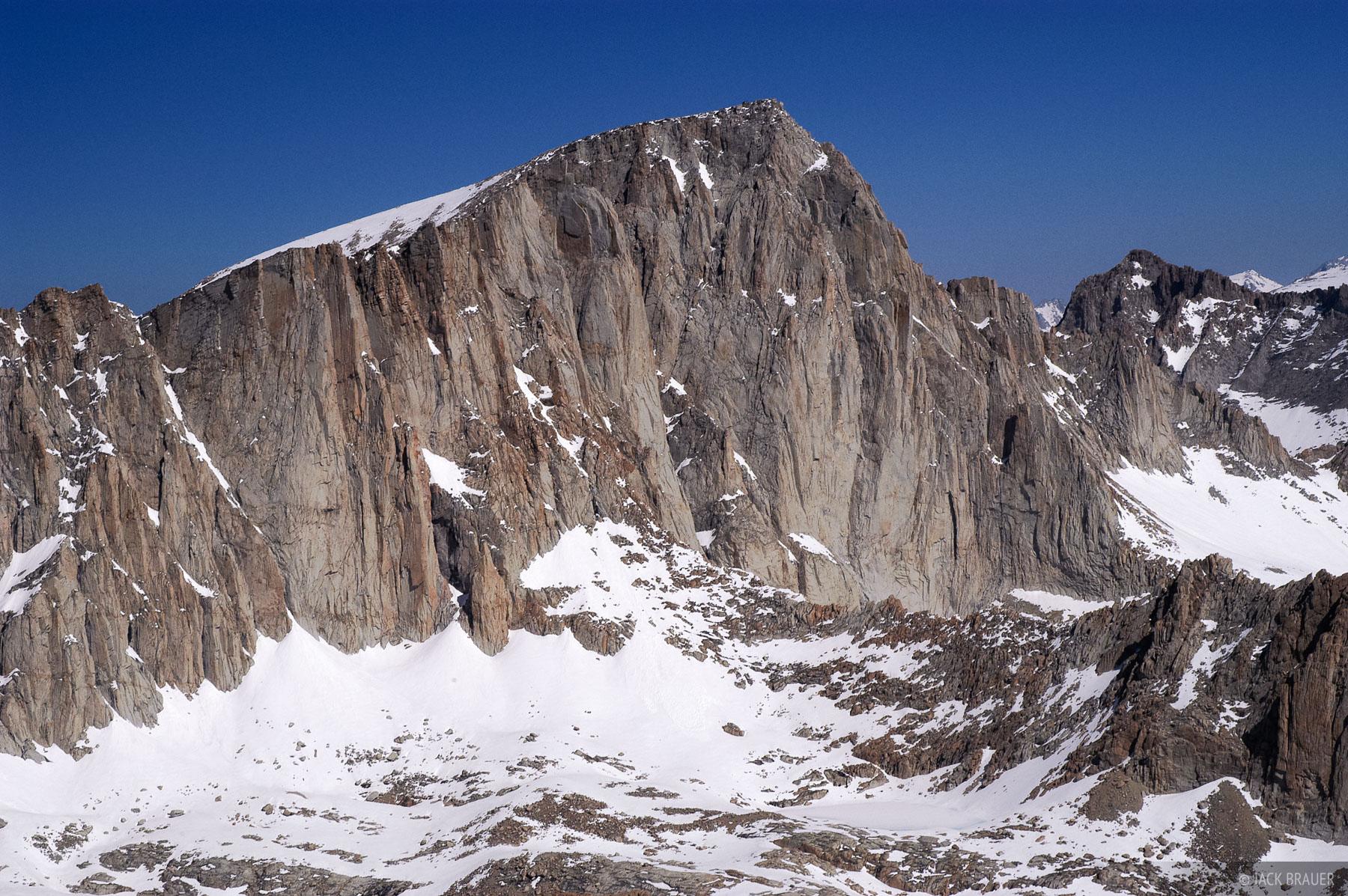 Mt. Whitney, Mt. Irvine, Sierra Nevada, California, photo