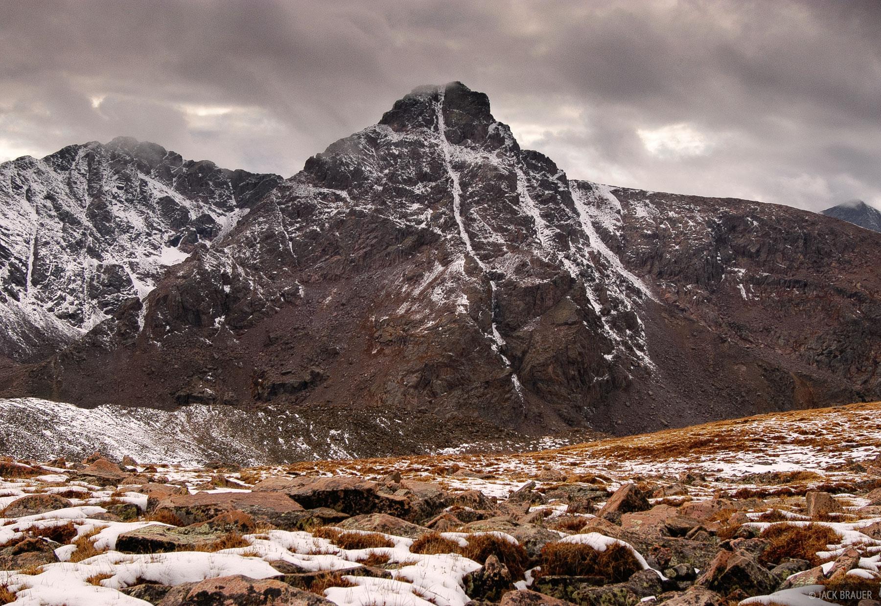 Mount of the Holy Cross, Sawatch Range, Colorado, Notch Mountain, October, Holy Cross Wilderness, photo