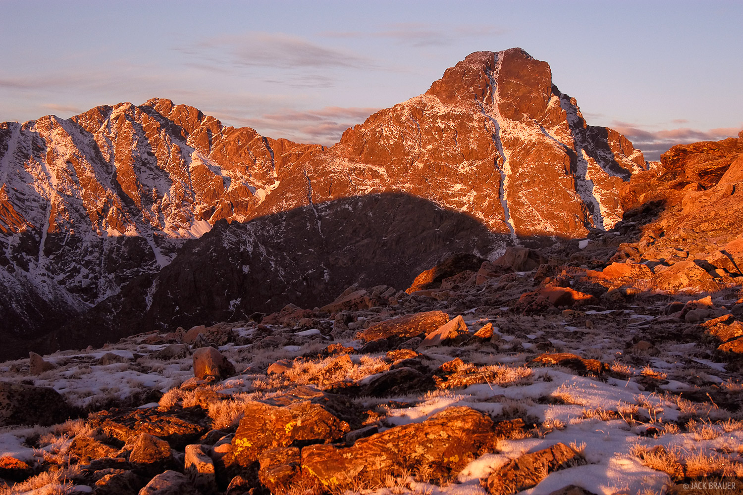 Mount of the Holy Cross, Sawatch Range, Colorado, sunrise, Holy Cross Wilderness, photo