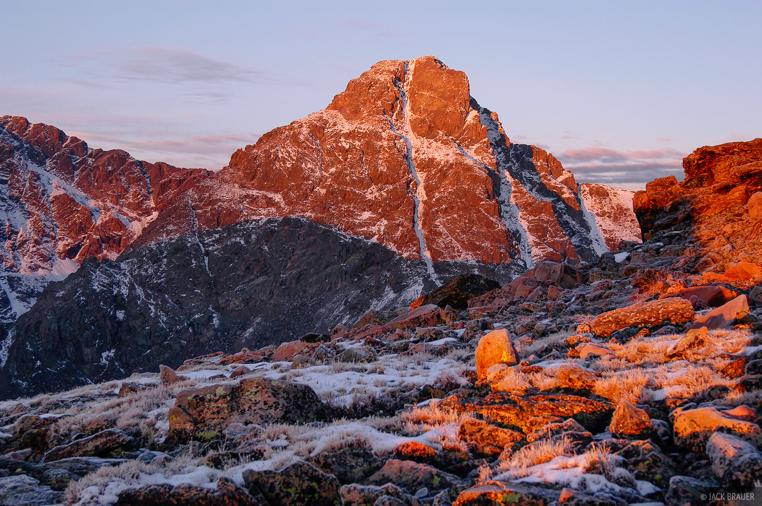 Mount of the Holy Cross, alpenglow, Vail, Sawatch Range, Colorado, Holy Cross Wilderness, photo
