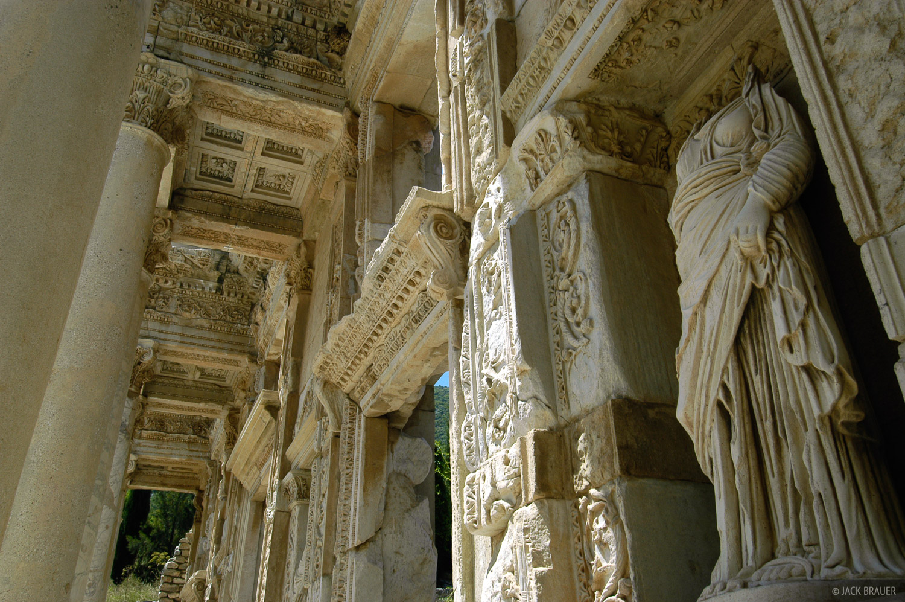 Library of Celsus, Ephesus, Turkey, photo