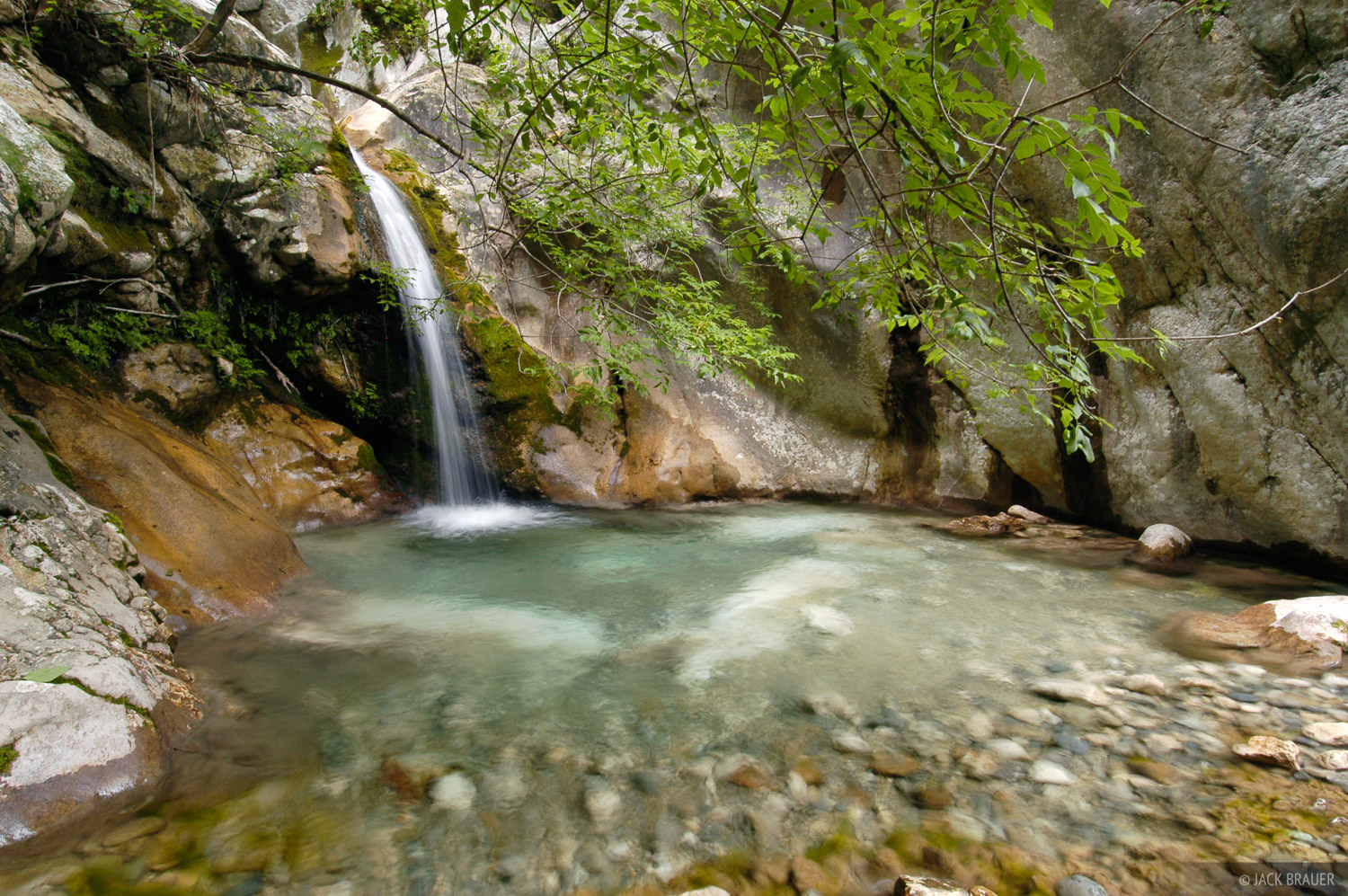 Kotor, waterfall, Montenegro, photo