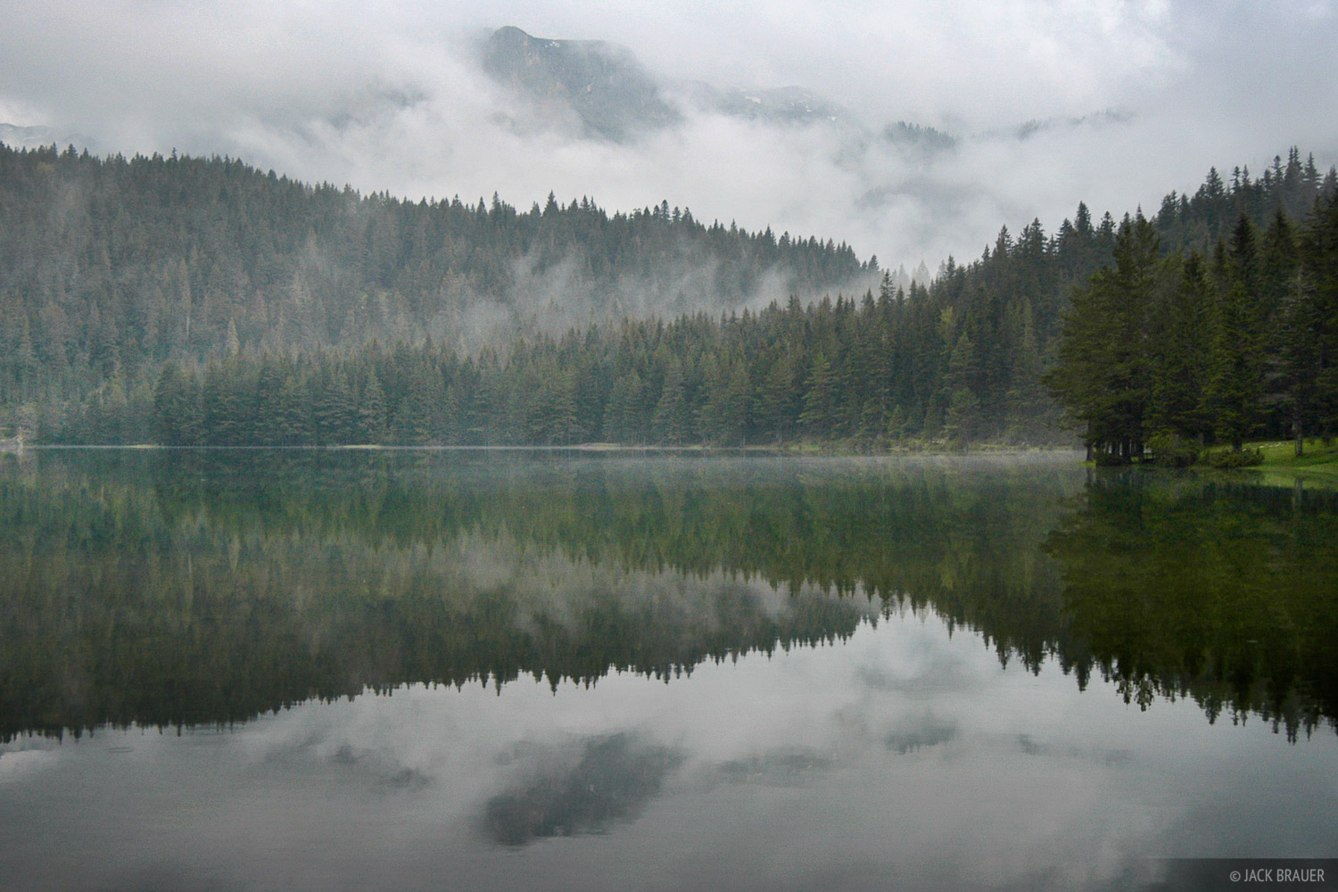 Crno Jezero, reflection, Durmitor National Park, Montenegro, photo