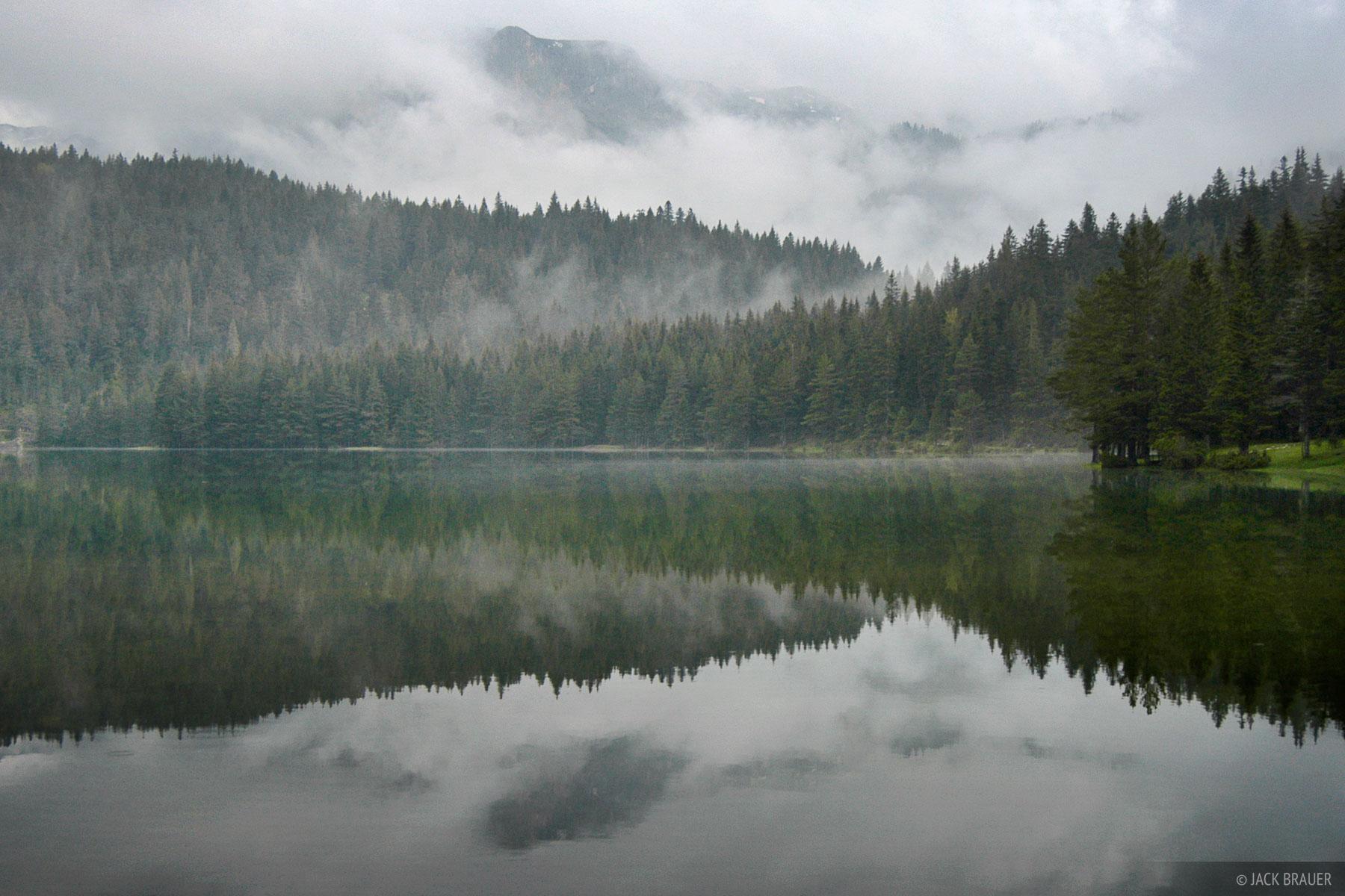 Crno Jezero, reflection, Durmitor National Park, Montenegro, photo