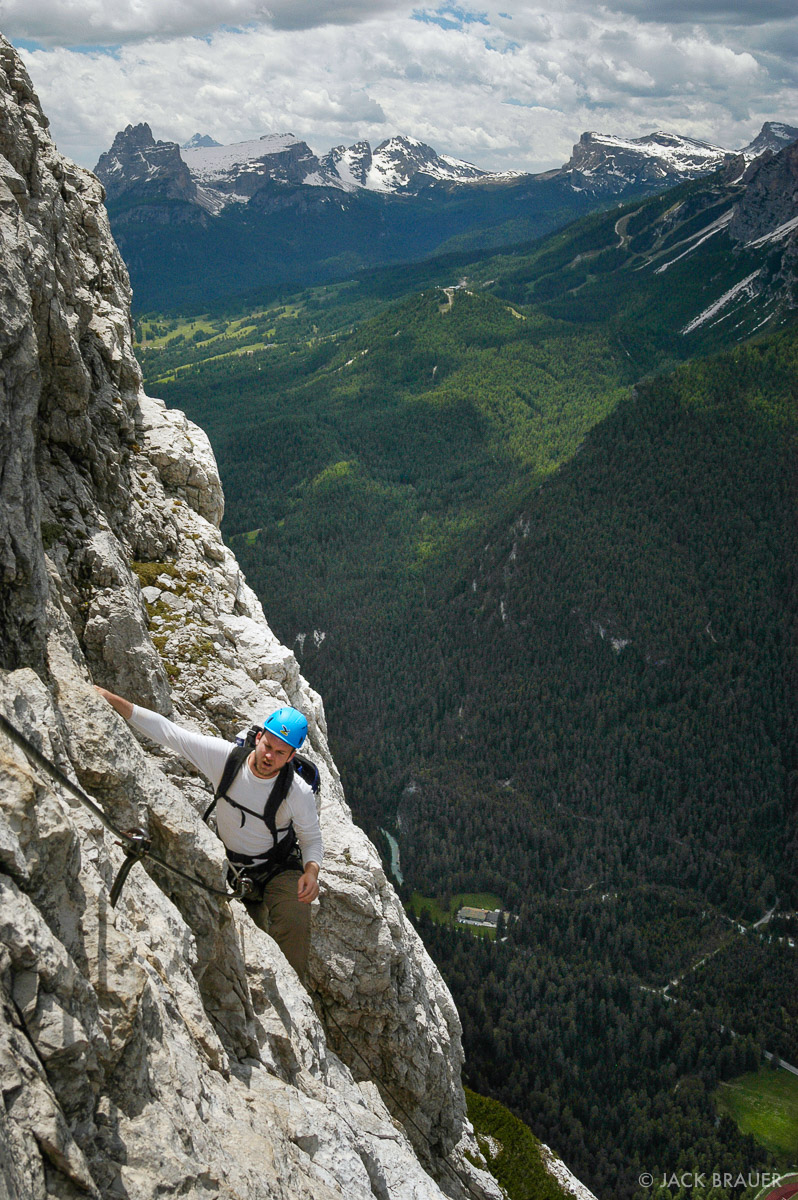 Fiámes, via ferrata, Dolomites, Italy, Cortina, climbing, photo