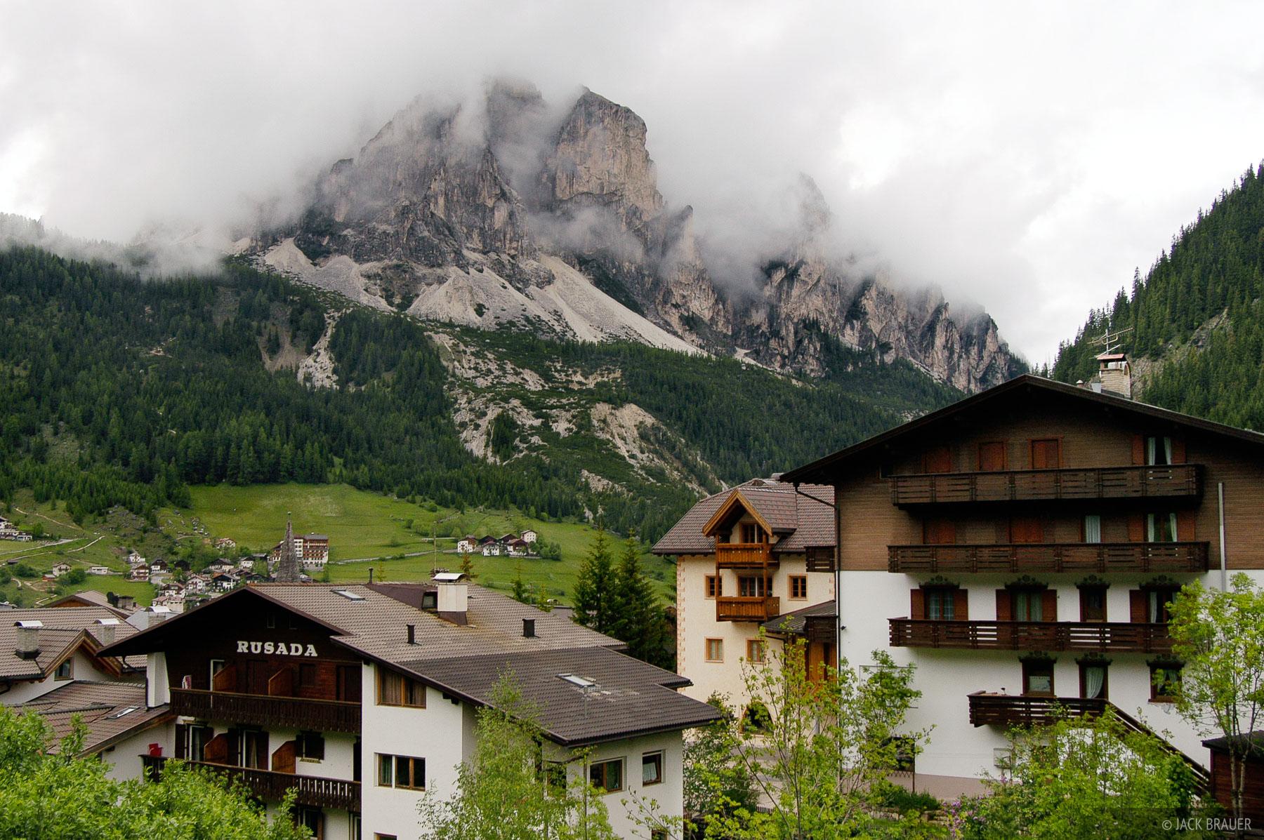 Corvara, Dolomites, Italy, photo