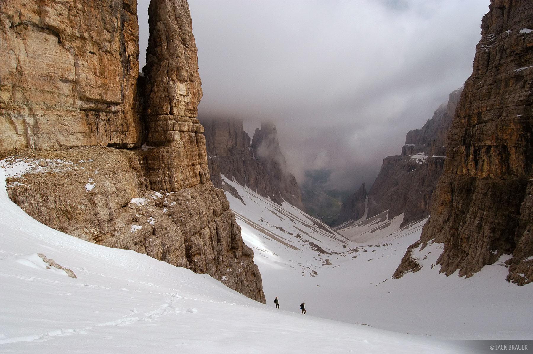 Val de Mesdi, Sella group, Corvara, Dolomites, Italy, photo