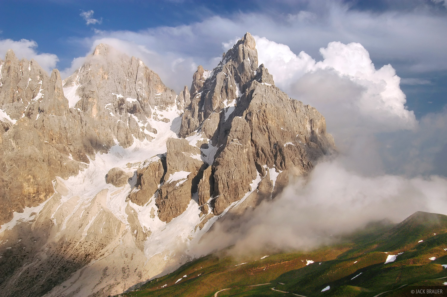Cimon della Pala, Dolomites, Italy, photo