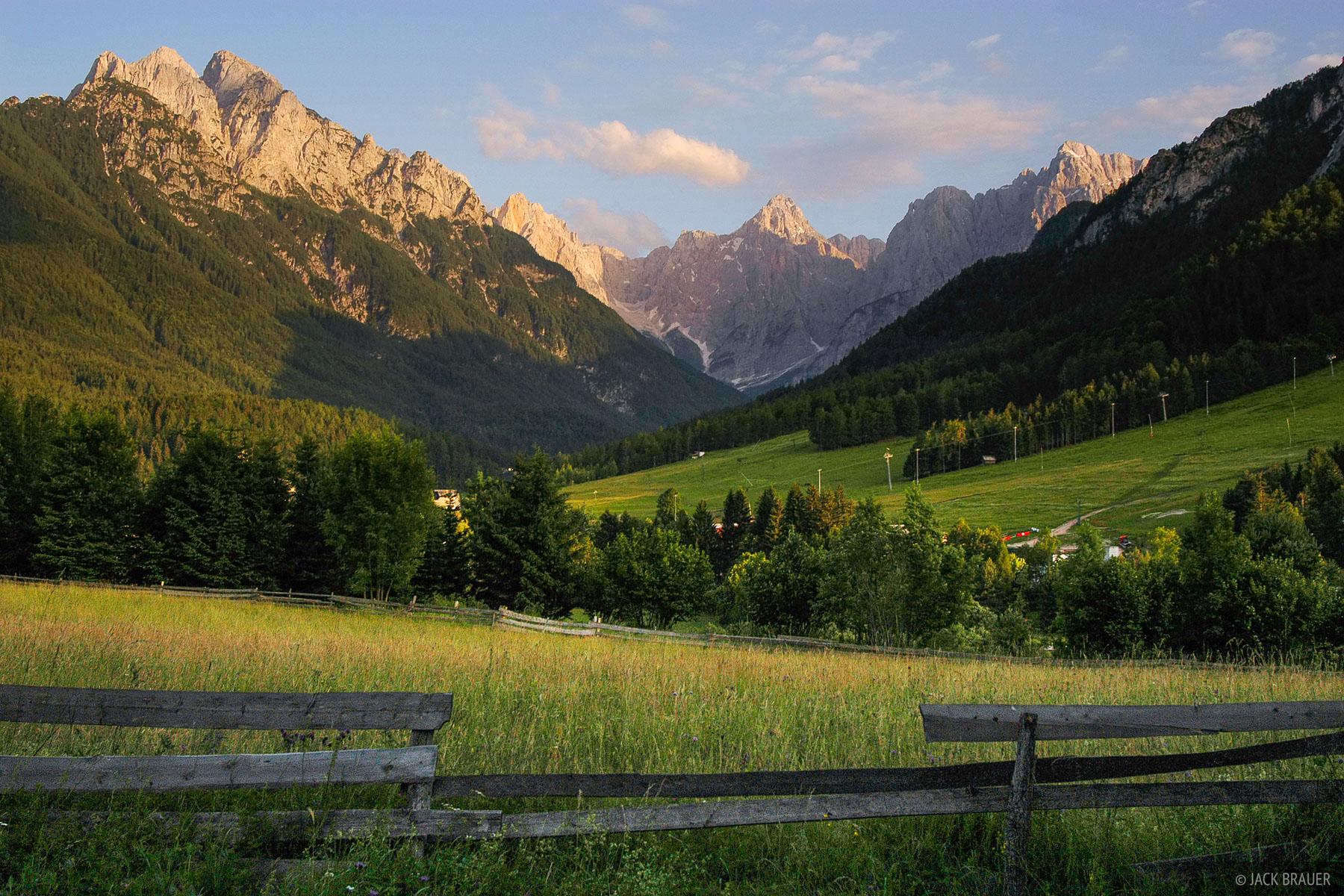 Kranjska Gora, Julian Alps, Slovenia, photo
