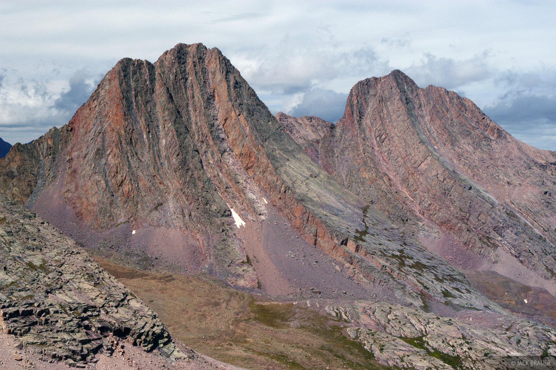 Vestal Peak, Arrow Peak, Wham Ridge, Grenadier Range, Colorado, photo