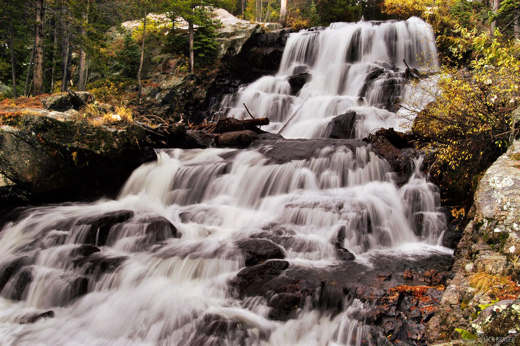 Cascade Creek, waterfall, Indian Peaks, Colorado, photo