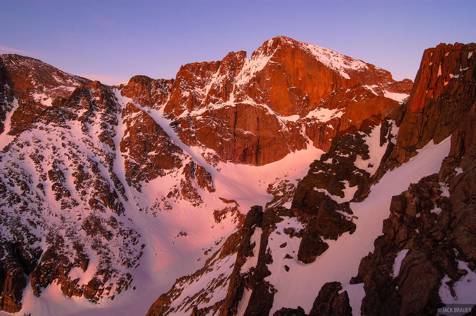 Colorado,Longs Peak,Rocky Mountain National Park, May, photo