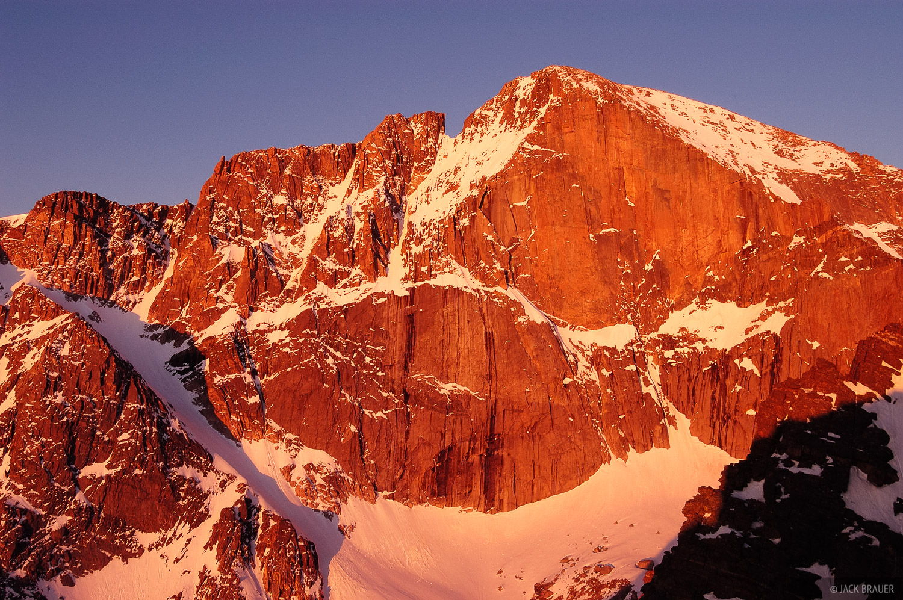 Diamond, Longs Peak, Rocky Mountain National Park, Colorado, photo