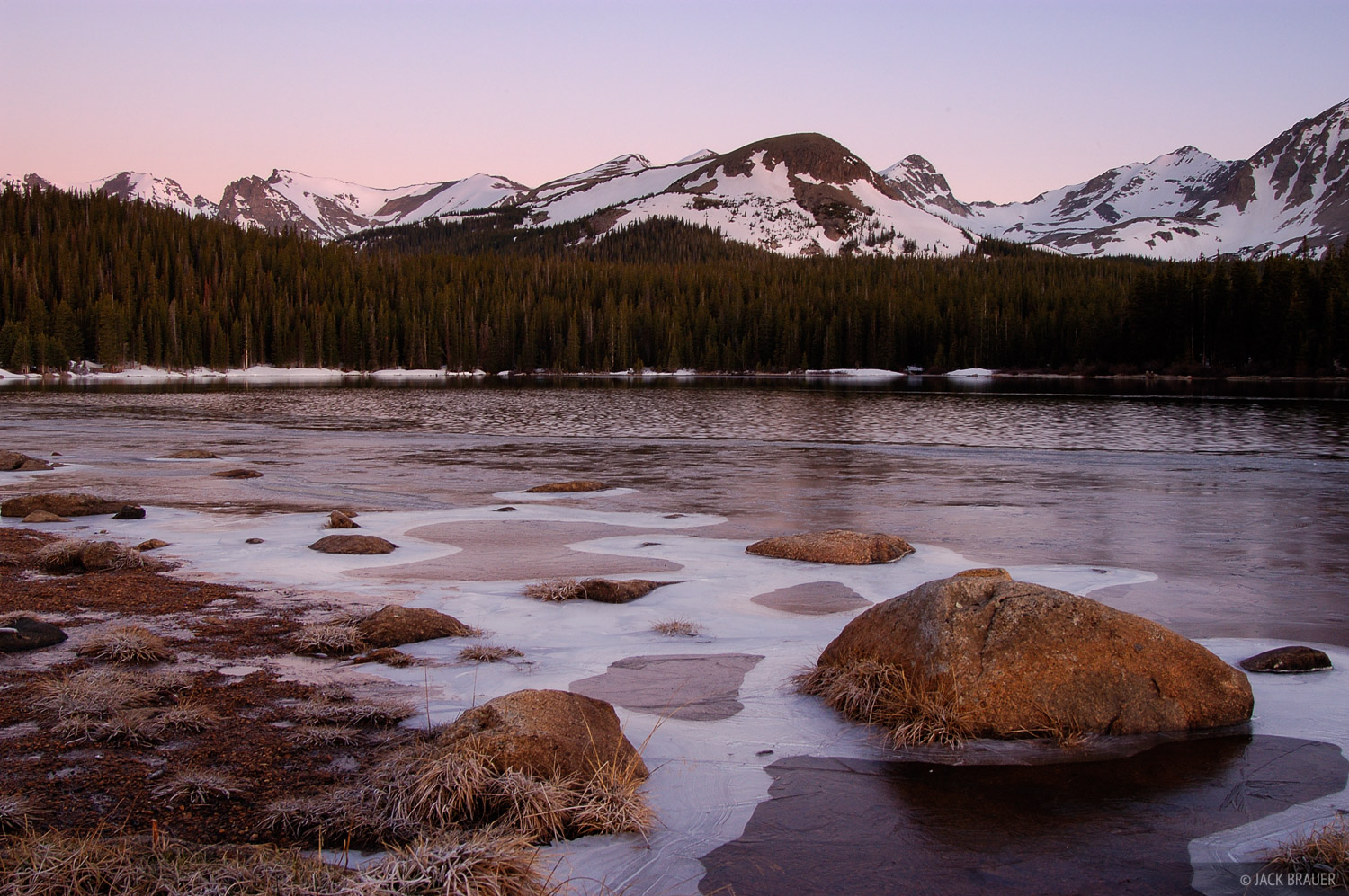 Brainard Lake, Indian Peaks, Colorado, photo