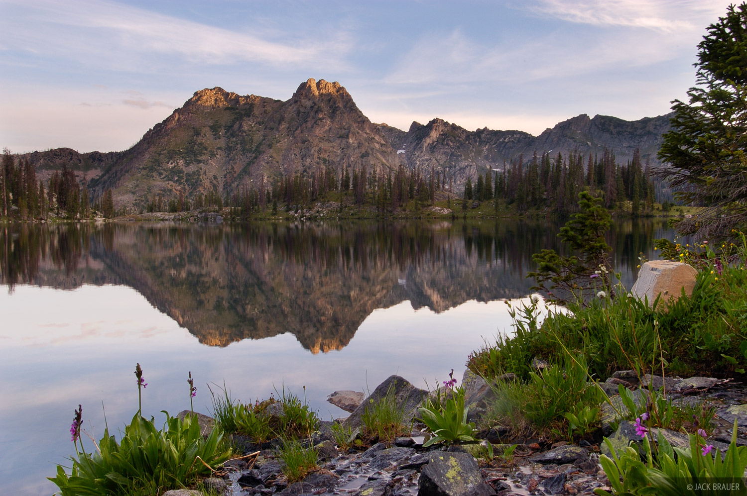 Big Agnes, Gilpin Lake, Zirkel Wilderness, Park Range, Colorado, photo