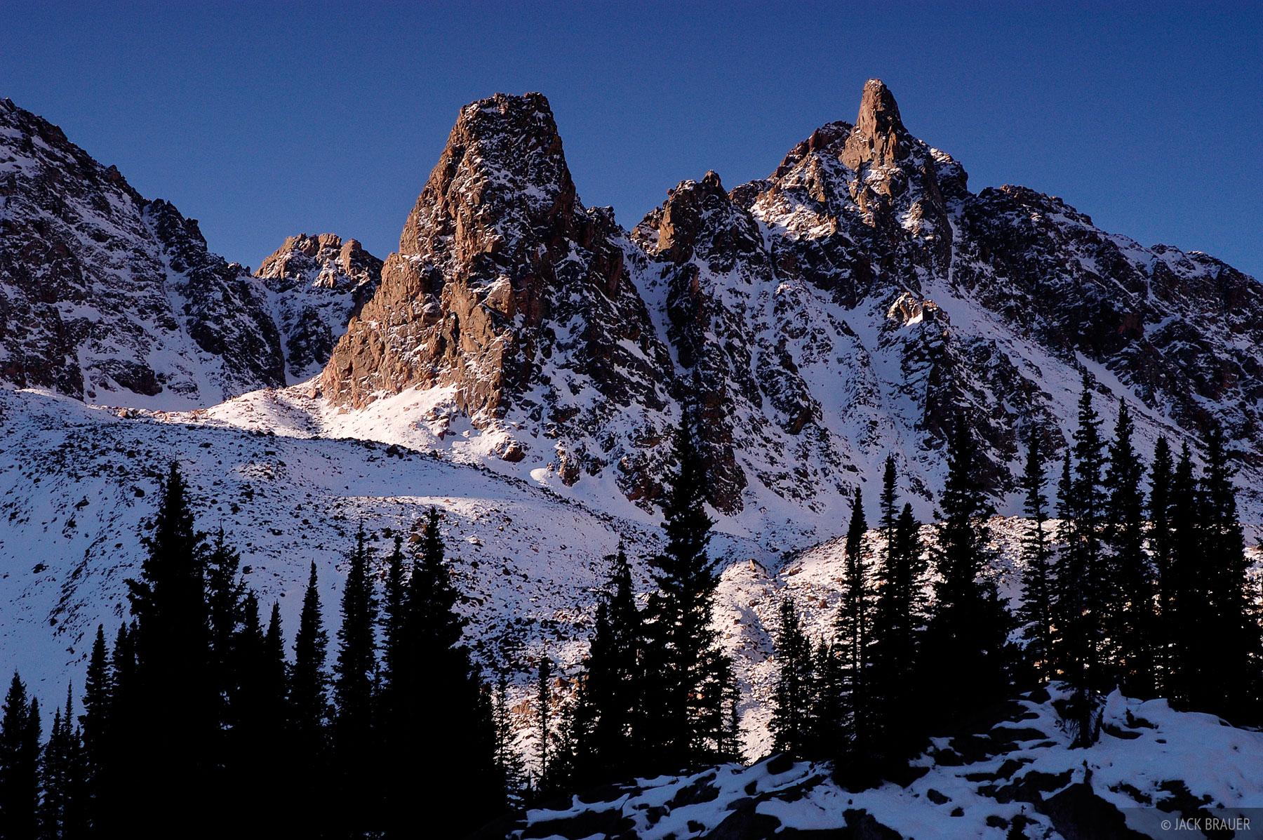 peaks, Eagles Nest Wilderness, Gore Range, Colorado, photo