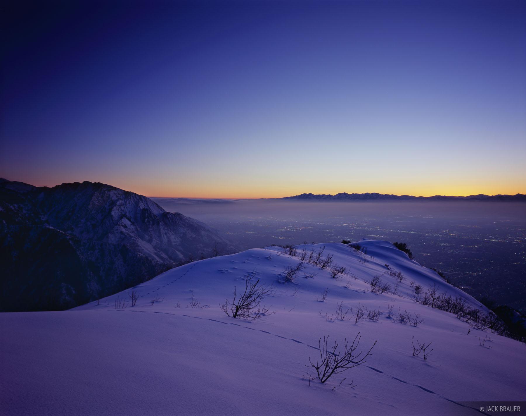 Mount Olympus, Grandeur Peak, Salt Lake City, Wasatch Range, Utah, photo