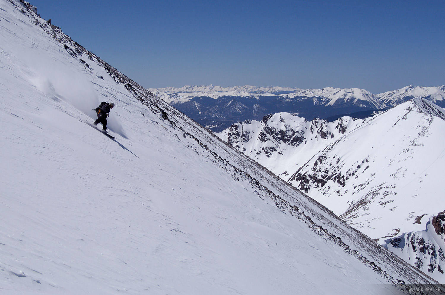 riding, Northwest Couloir, photo
