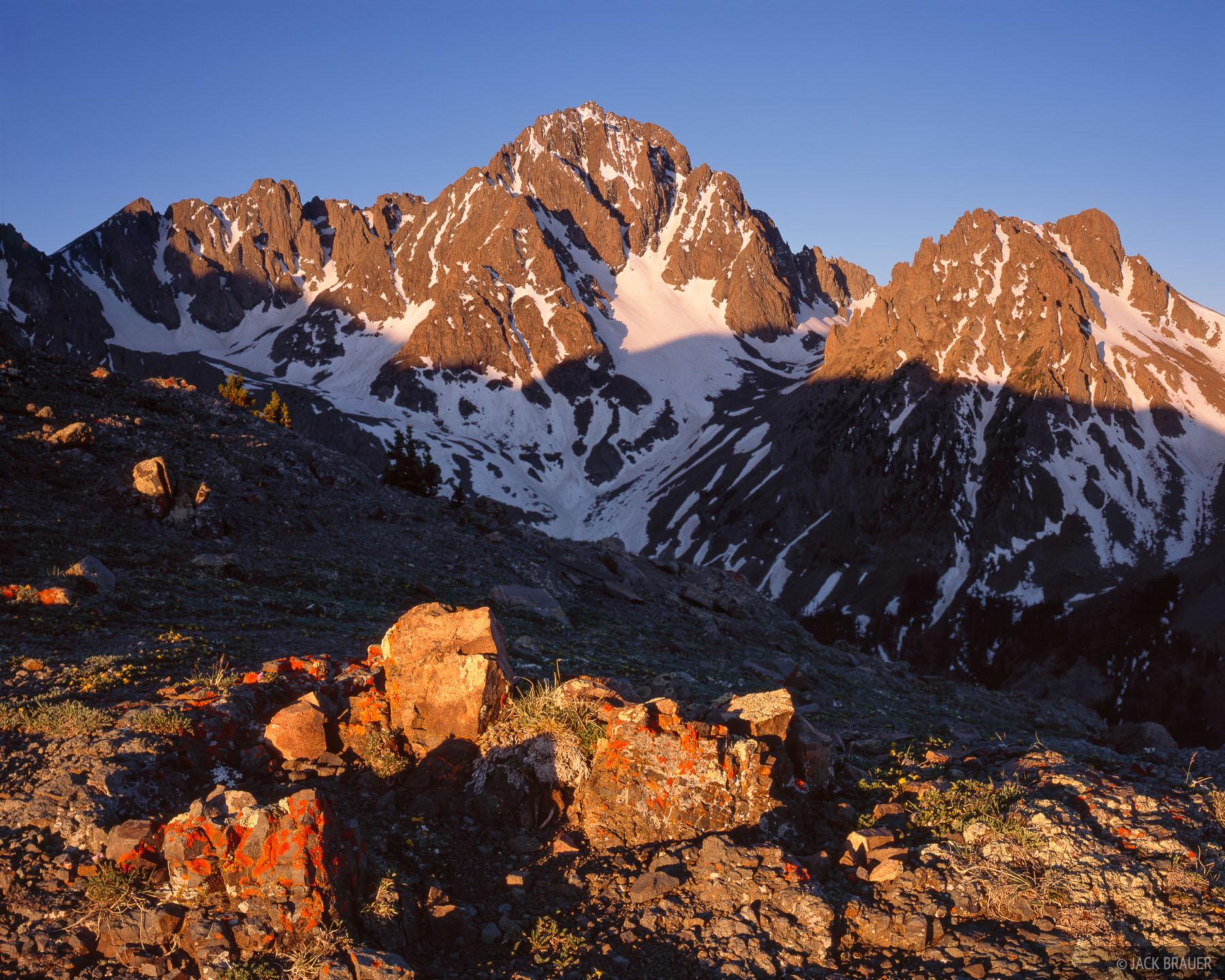 Mt. Sneffels, San Juan Mountains, Colorado, fourteeners, photo