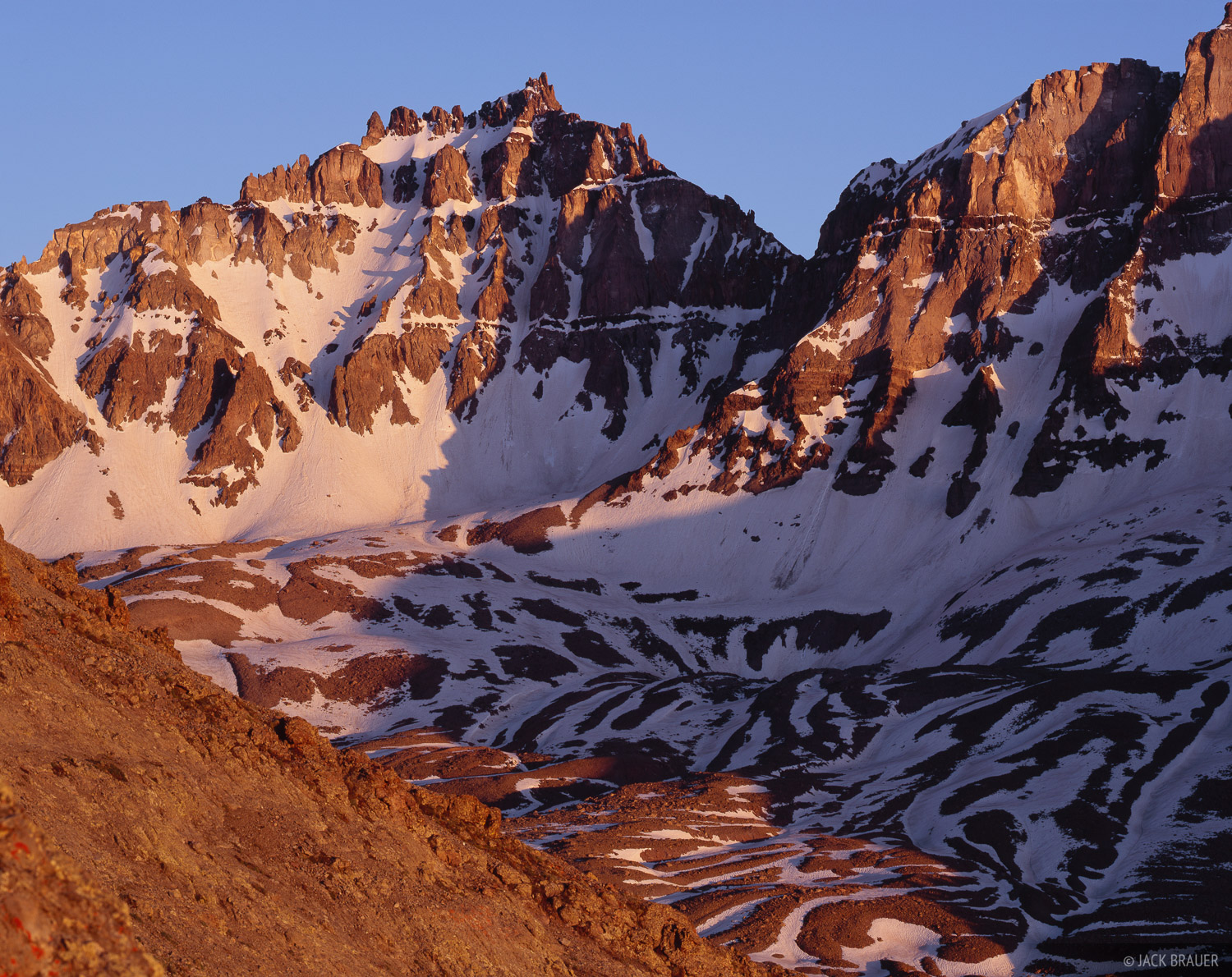 Teakettle Mountain, San Juan Mountains, Colorado, photo
