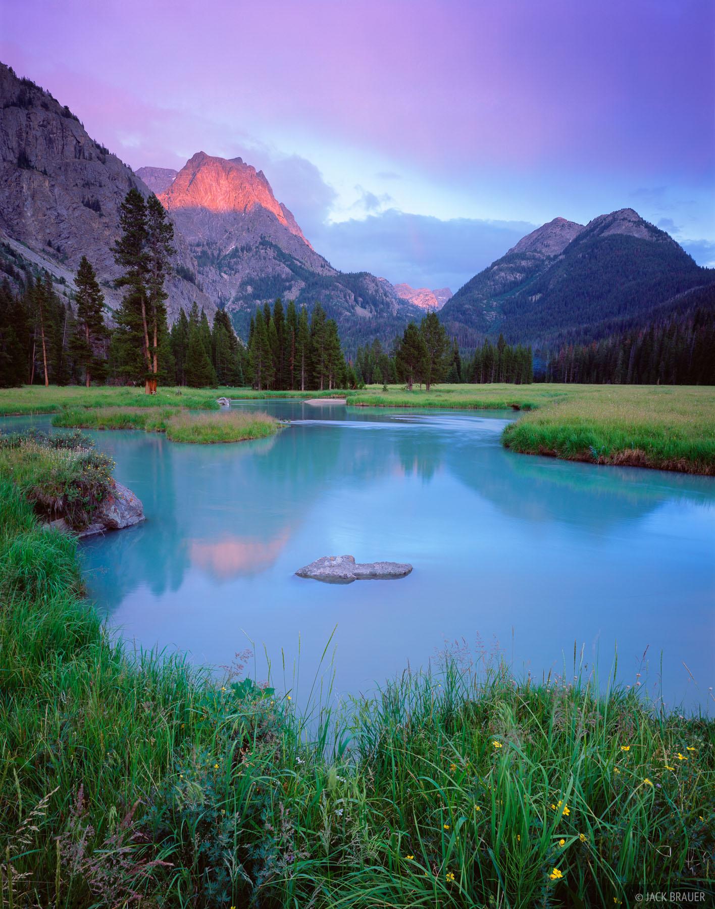 Ladd Peak, Green River, Wind River Range, Wyoming, photo