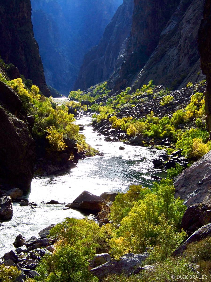 Gunnison River, paradise, Black Canyon, Colorado, photo