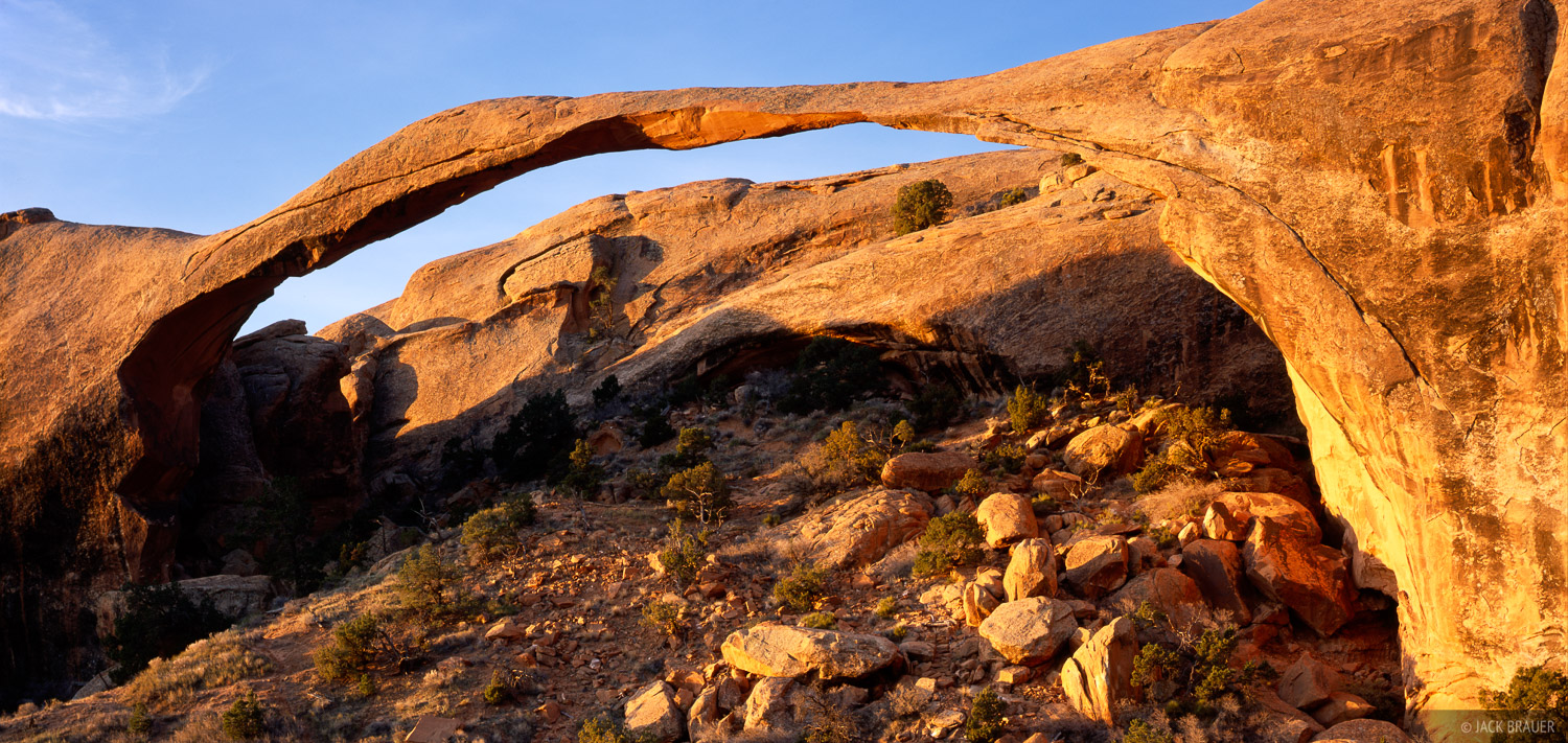 Landscape Arch, Arches National Park, Moab, Utah, photo