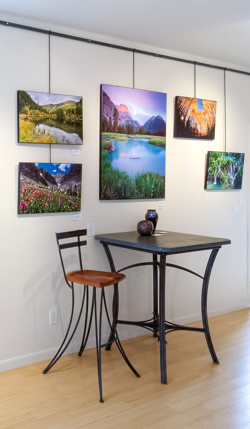 Prints at the Skol Gallery, Ouray, Colorado