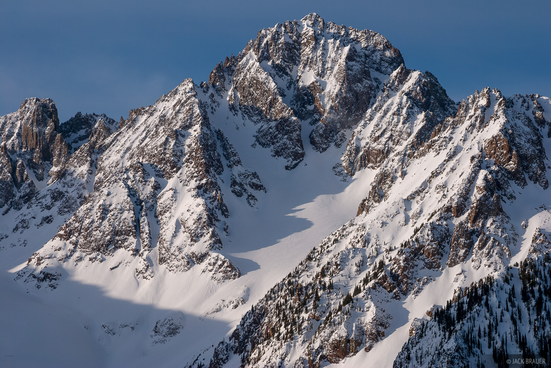Mt. Sneffels, San Juan Mountains, Colorado, photo