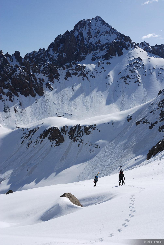 Hiking, Mt. Sneffels, Colorado, photo