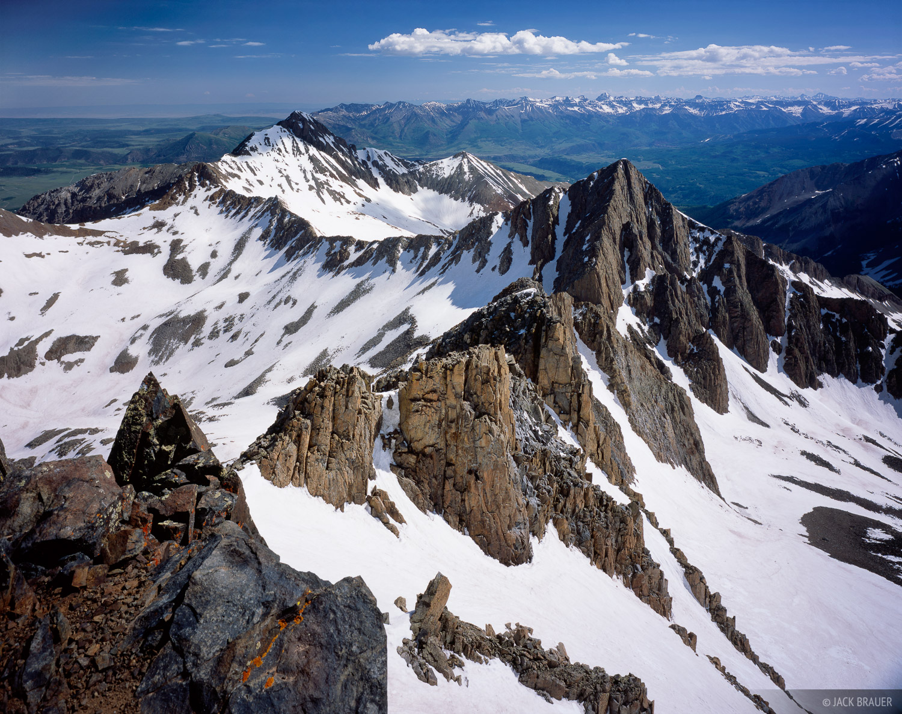 Mt. Wilson, fourteener, San Juan Mountains, Colorado, photo
