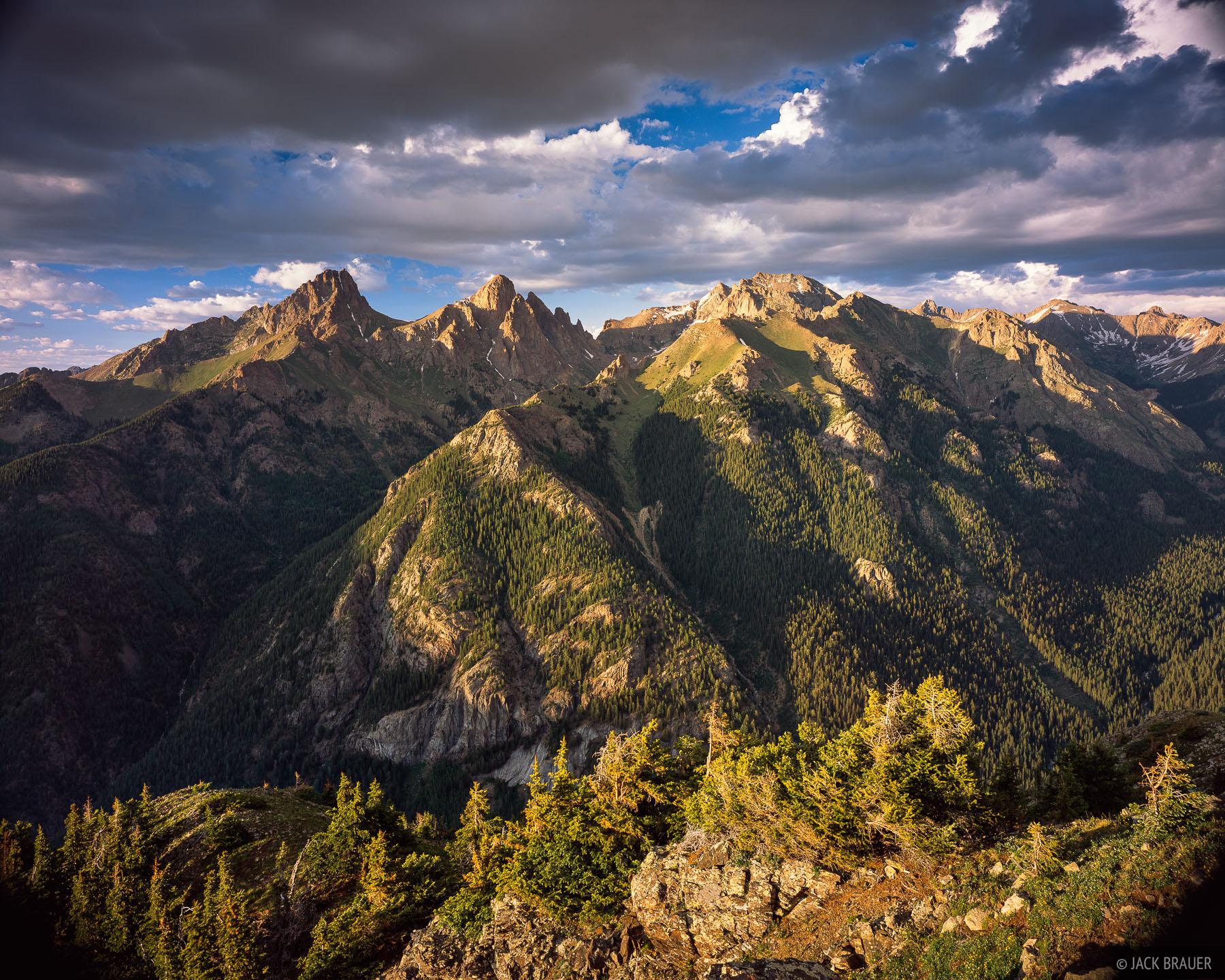 Eolus, Pigeon, Turret, Needle Mountains, San Juans, Colorado, photo
