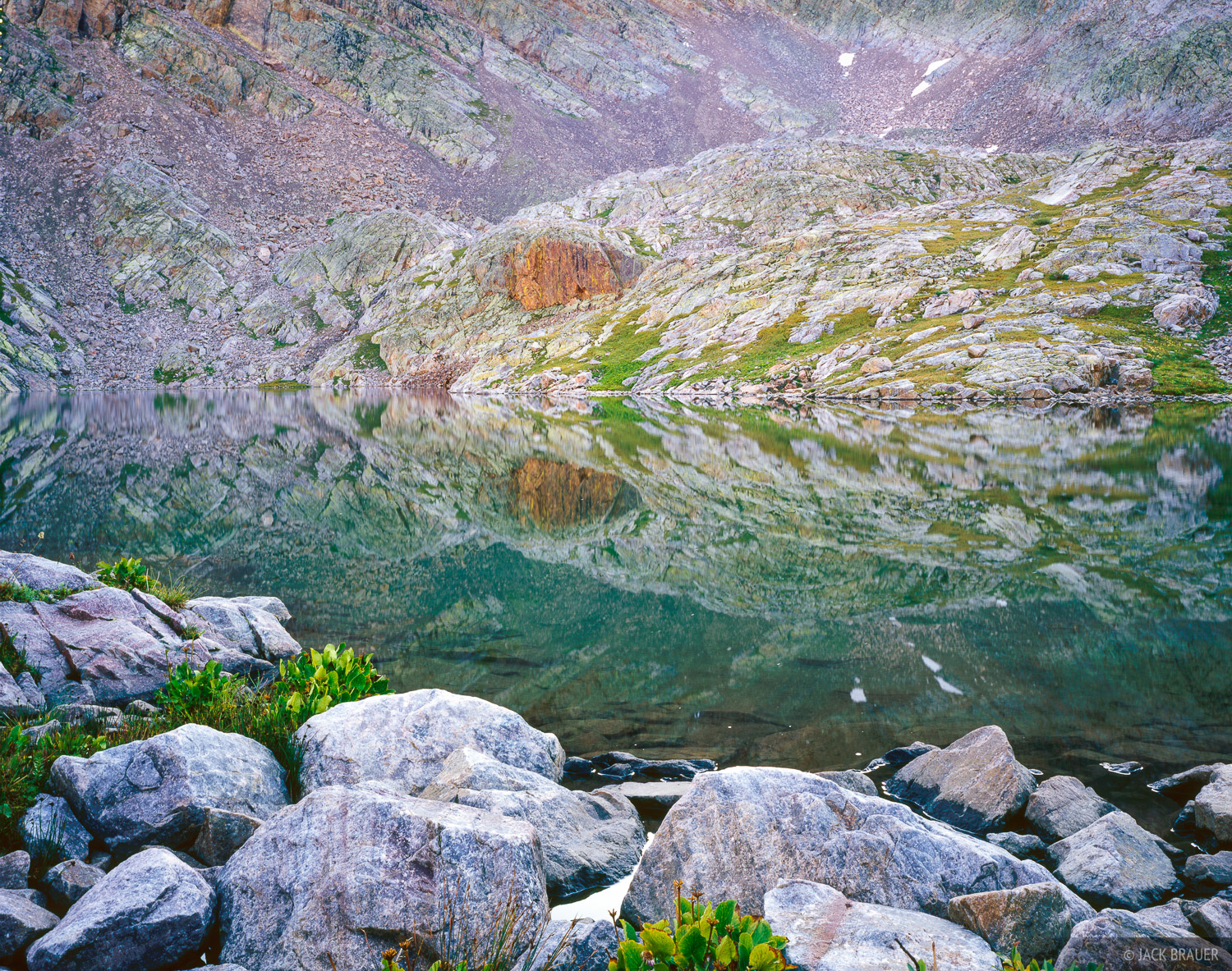 Rocky Reflection, San Juans, Colorado, photo
