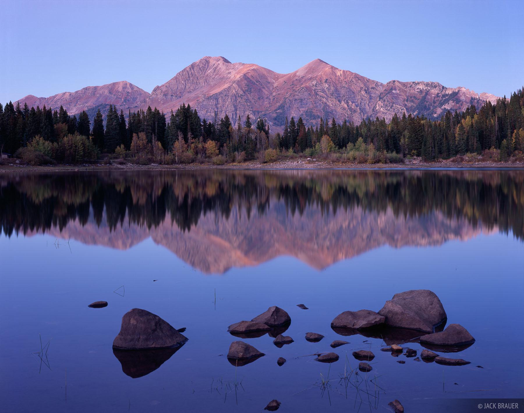 Mt. Owen, Ruby Peak, Kebler Pass, Colorado, photo