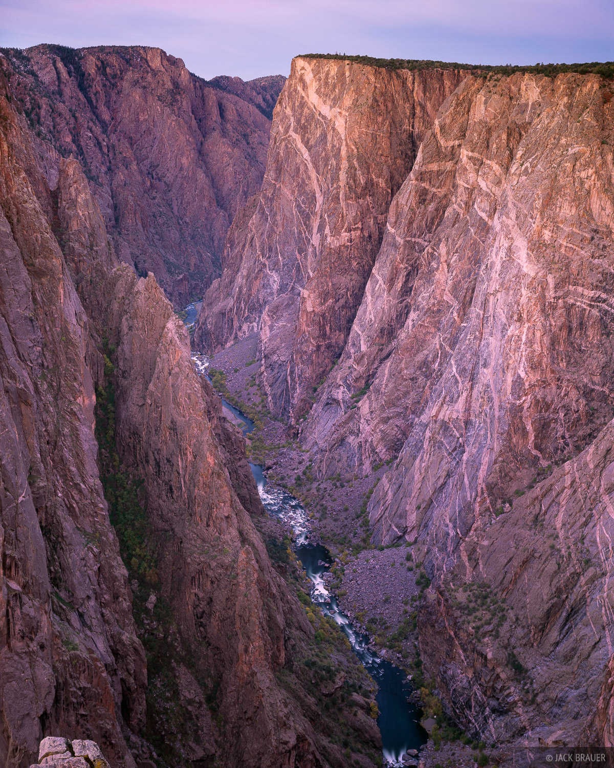 Painted Wall, North Rim, Black Canyon of the Gunnison, Colorado, photo