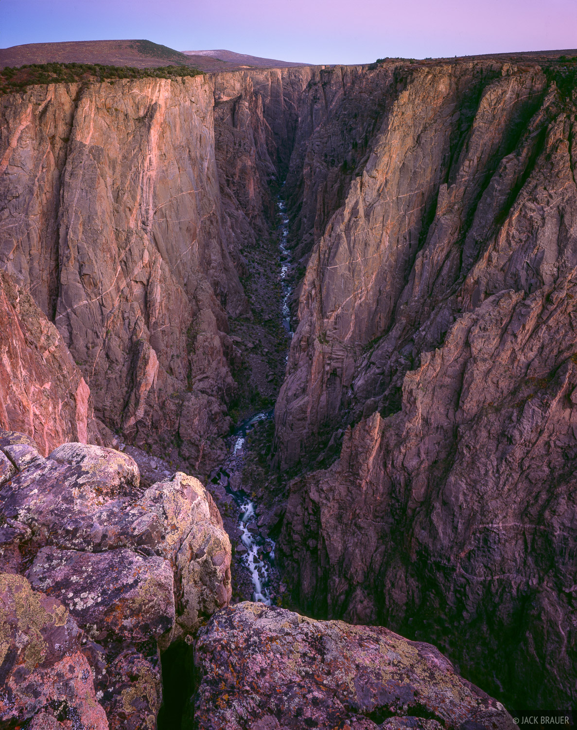 Exclamation Point, Black Canyon of the Gunnison, Colorado, photo
