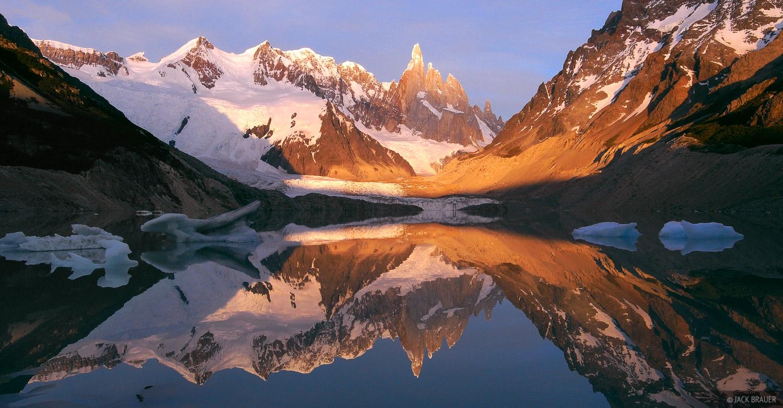 Cerro Torre, Lago Torre, El Chalt, photo