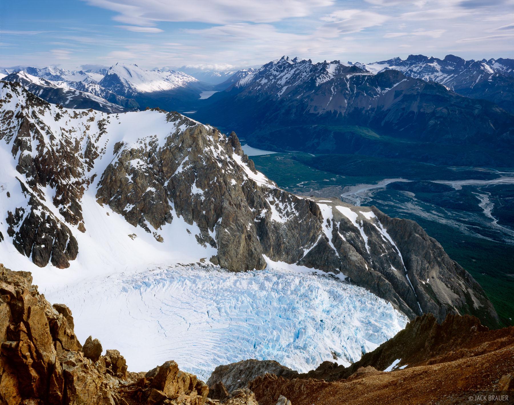 Glaciar Piedras Blancas, Parque Nacional los Glaciares, Patagonia, Argentina, photo