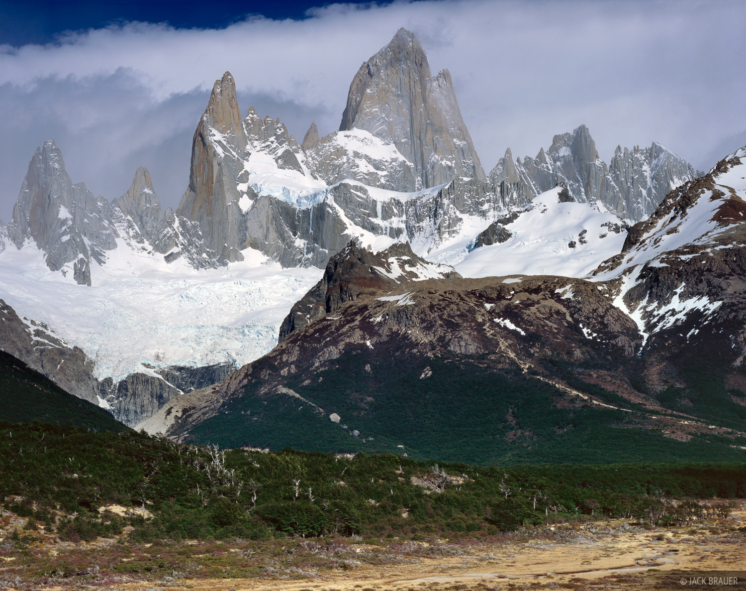 Patagonia South America >> Monte Fitz Roy | Patagonia, Argentina | Mountain Photography by Jack Brauer