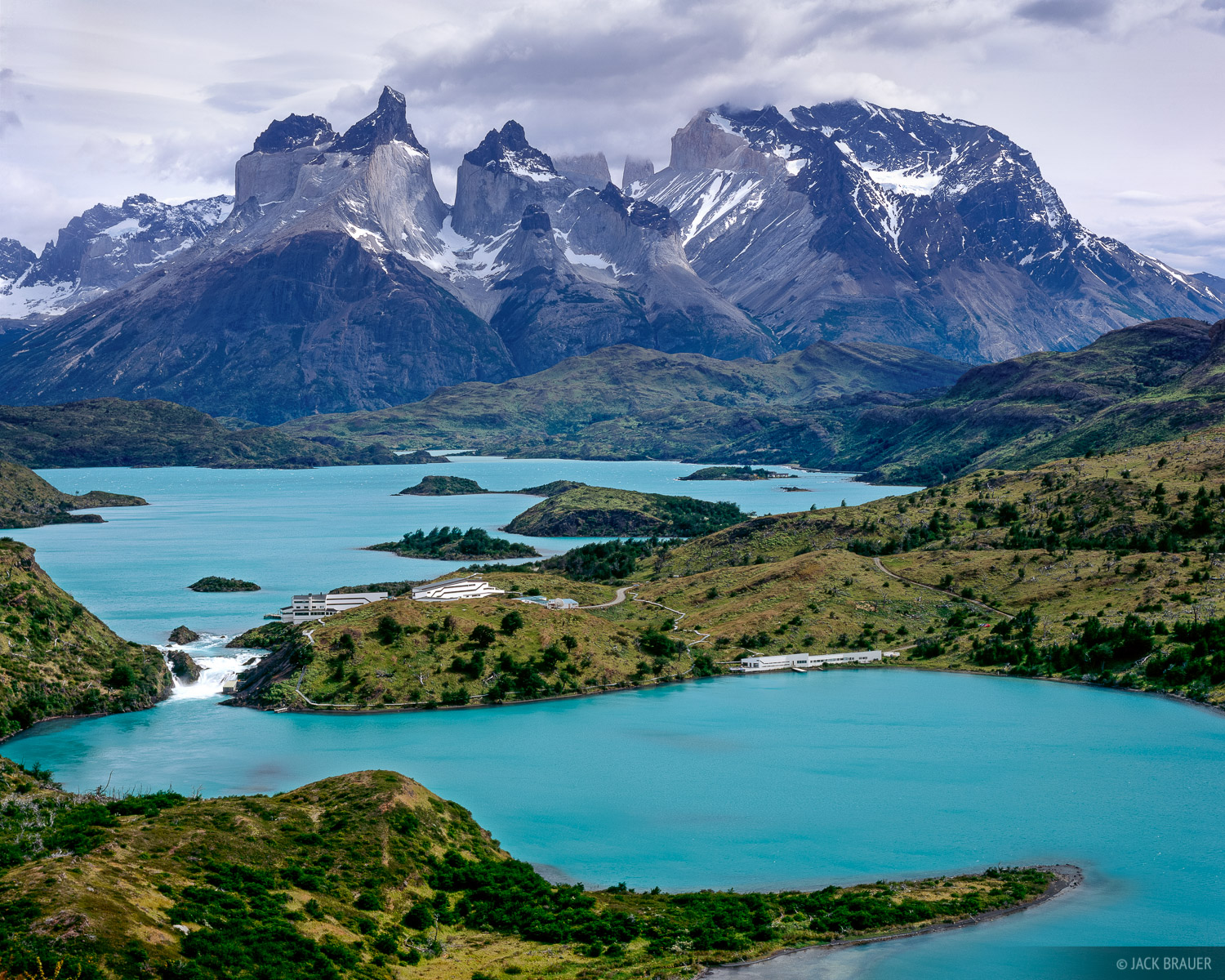 Torres del Paine, Lago Pehoe, Chile, Patagonia, photo