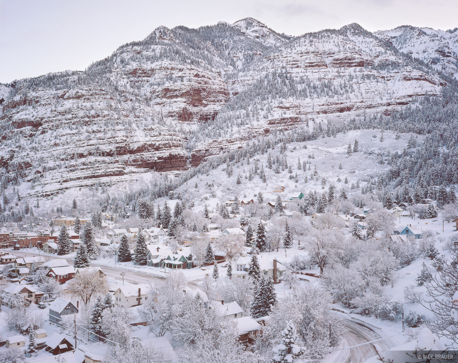 Winter Wonderland, Ouray, Colorado, photo
