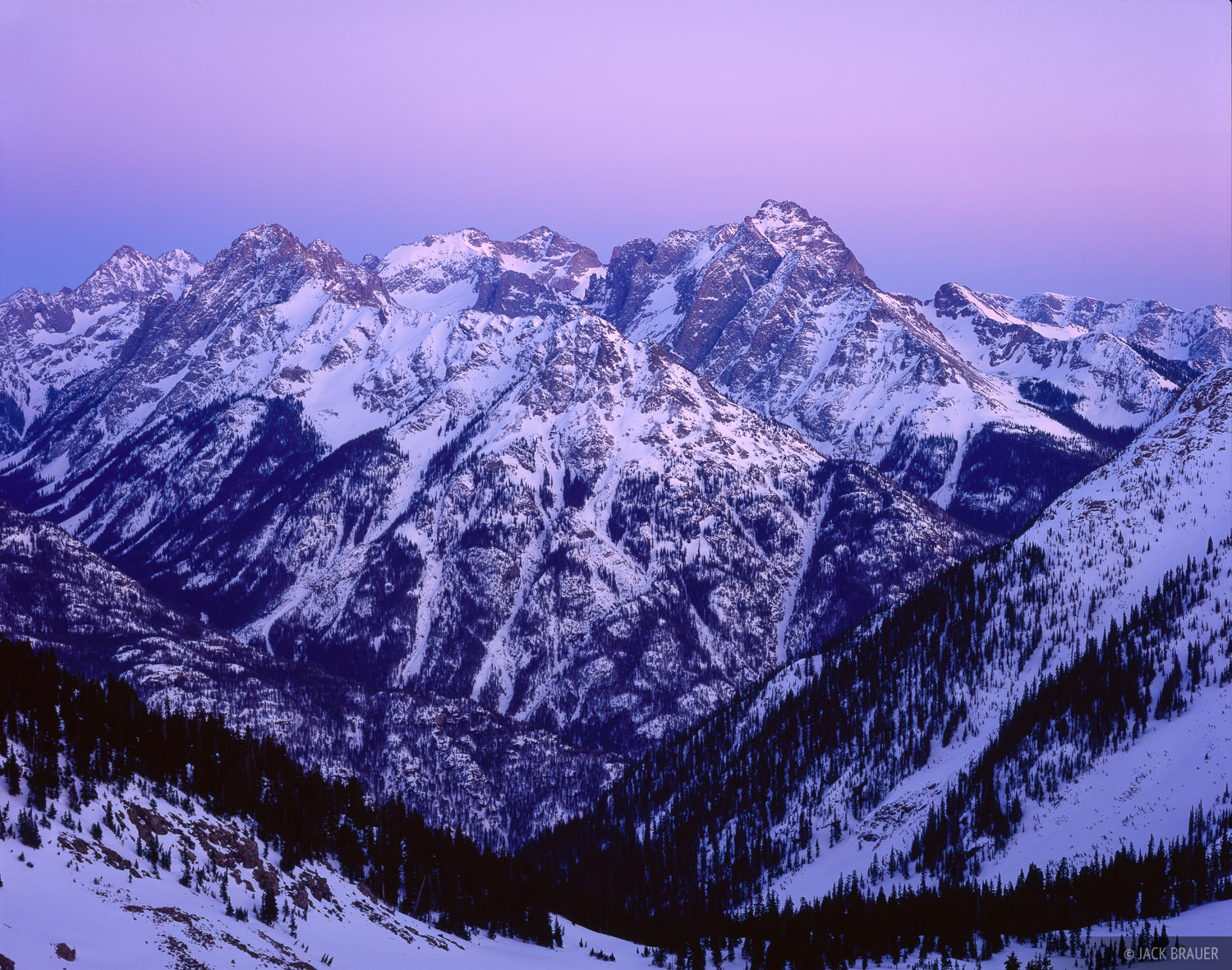 Pigeon Peak, Needle Mountains, Colorado, photo