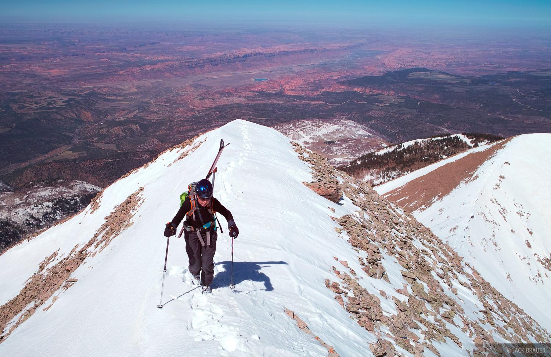 Mount Tukuhnikivatz, La Sal Mountains, Moab, Utah, photo