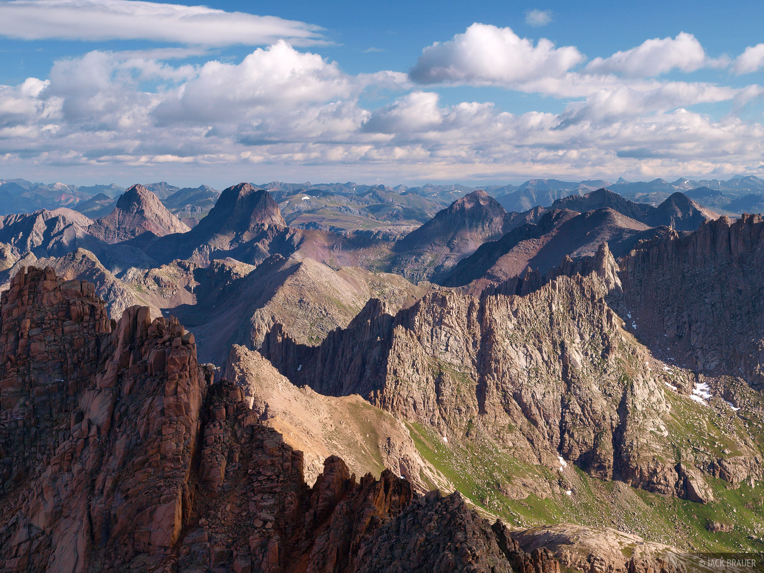 Windom Peak, summit, Needle Mountains, Colorado, photo