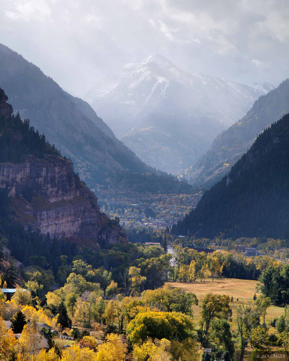 Ouray, Mt. Abrams, autumn, Colorado, photo