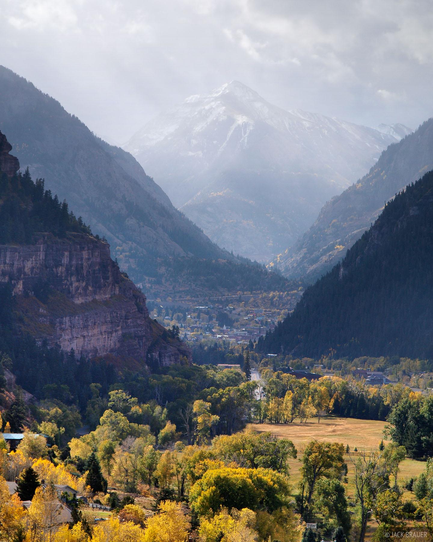 Ouray, Mt. Abrams, autumn, Colorado, photo
