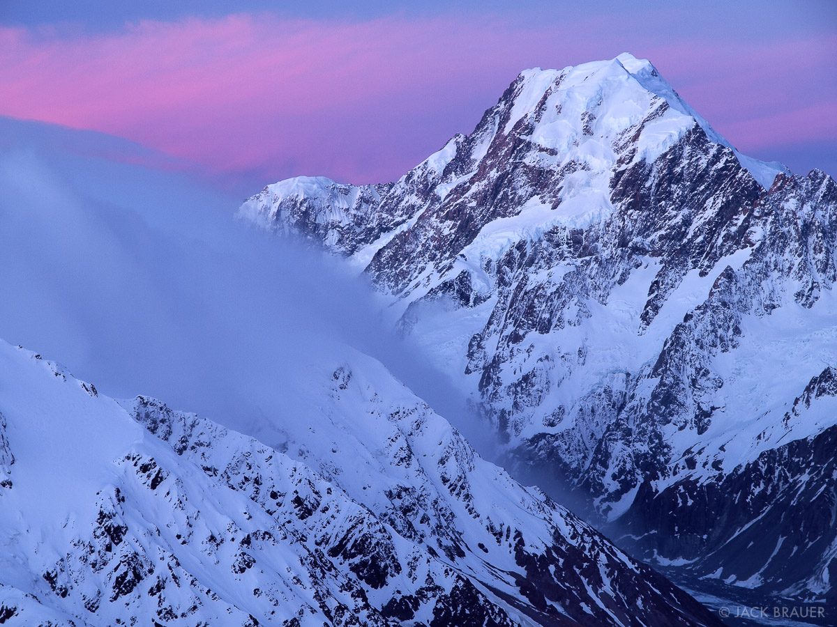 New Zealand News: New Zealand : Mountain Photography By Jack Brauer