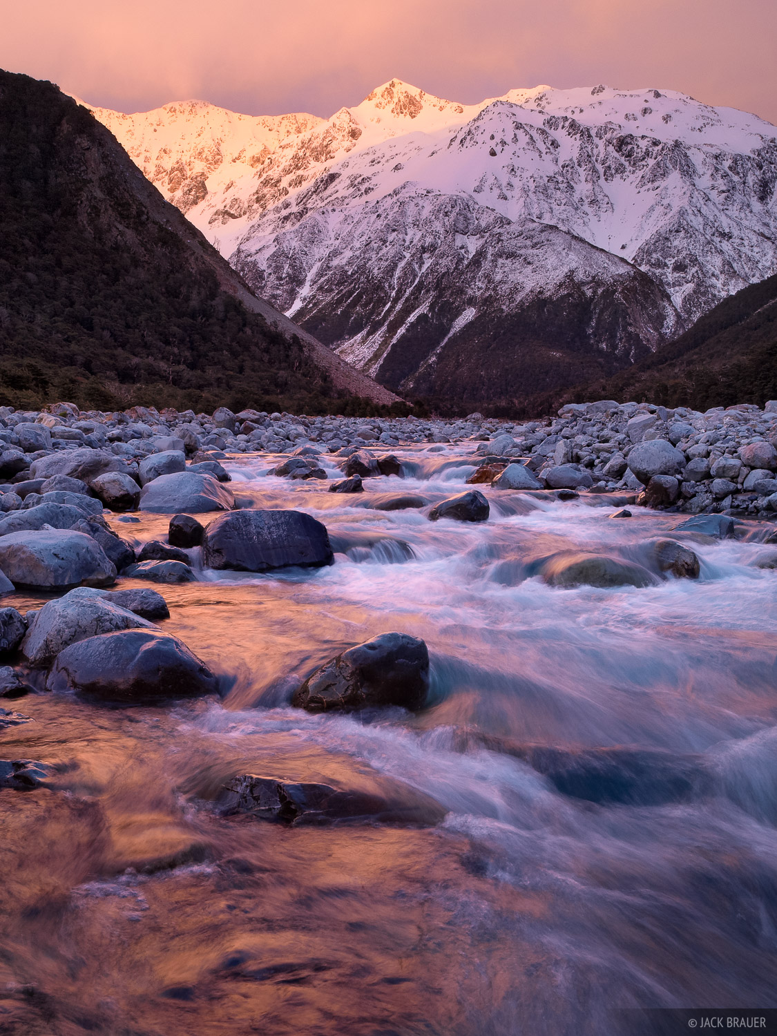 Waimakariri River, Arthur's Pass, New Zealand, Arthurs Pass National Park, photo